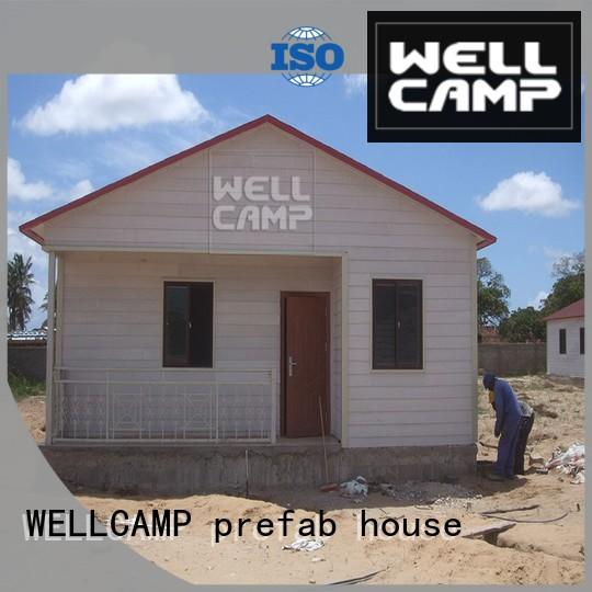 villa prefabricated villa prefabricated for WELLCAMP, WELLCAMP prefab house, WELLCAMP container house