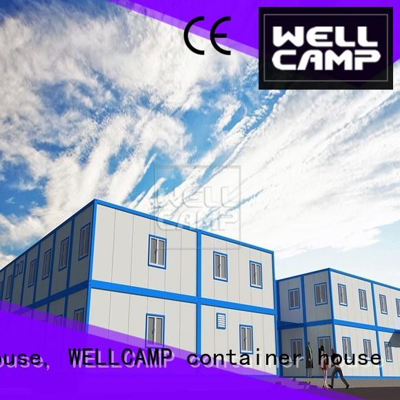 WELLCAMP, WELLCAMP prefab house, WELLCAMP container house corrugated steel container houses wholesale for goods