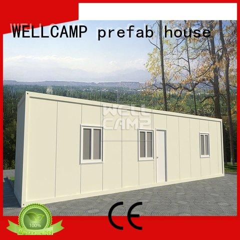 Brand wellcamp panel c15 detachable container house flat