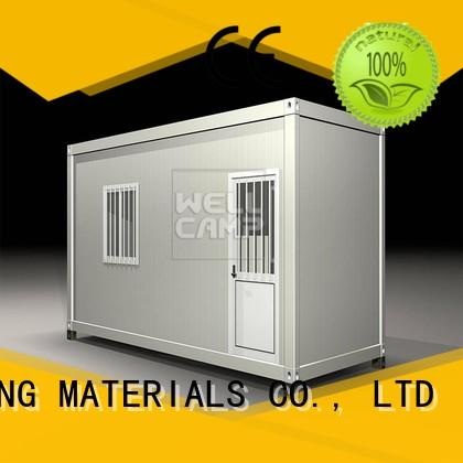 WELLCAMP, WELLCAMP prefab house, WELLCAMP container house container house project supplier for renting