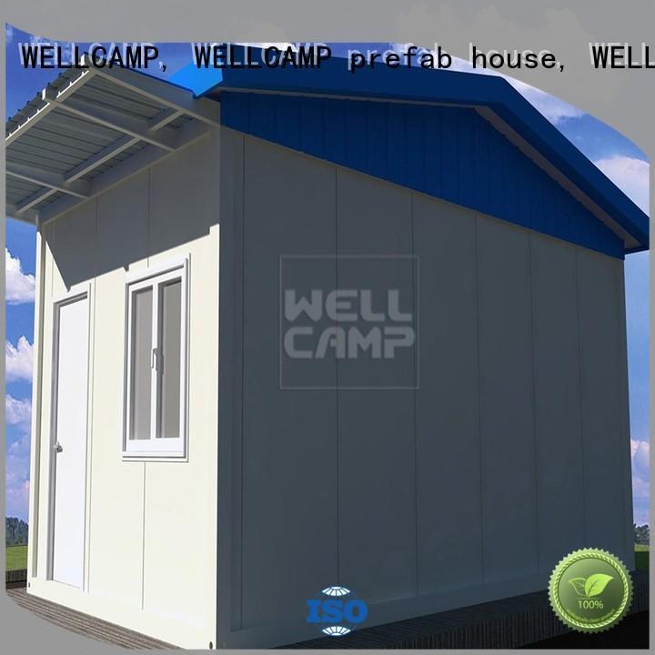 Hot security room manufacturer panel WELLCAMP, WELLCAMP prefab house, WELLCAMP container house Brand