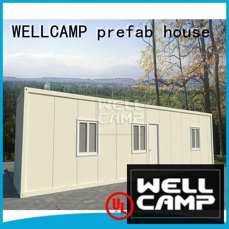 WELLCAMP, WELLCAMP prefab house, WELLCAMP container house steel container houses home for renting