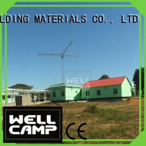 customized Prefabricated Simple Villa wellcamp for