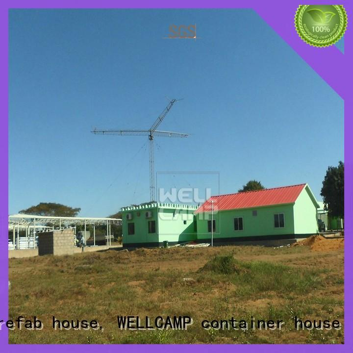 WELLCAMP, WELLCAMP prefab house, WELLCAMP container house prefabricated villa online for hotel