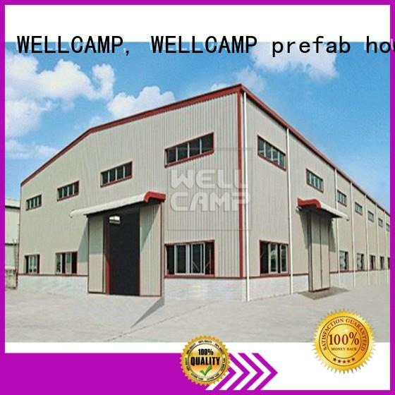 WELLCAMP, WELLCAMP prefab house, WELLCAMP container house standard prefabricated warehouse supplier for goods