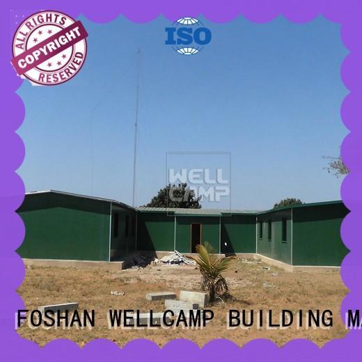 WELLCAMP, WELLCAMP prefab house, WELLCAMP container house three storey prefab container homes refugee house for dormitory
