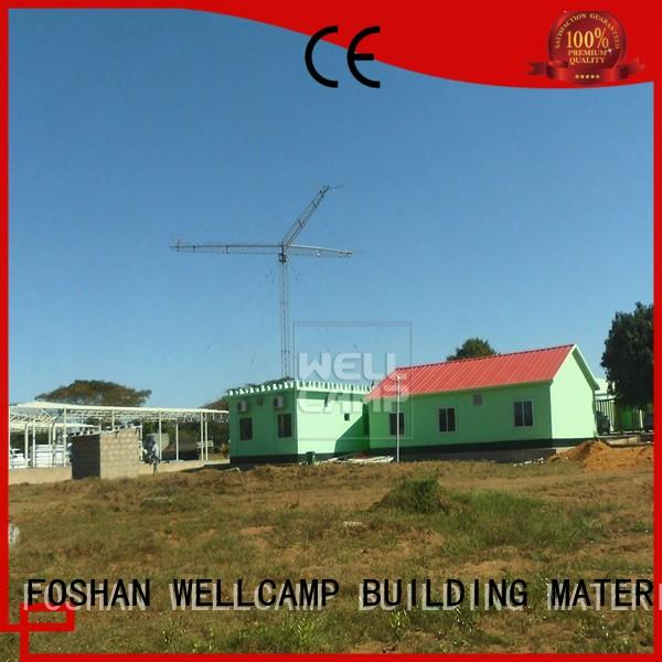 WELLCAMP, WELLCAMP prefab house, WELLCAMP container house Prefabricated Simple Villa maker wholesale