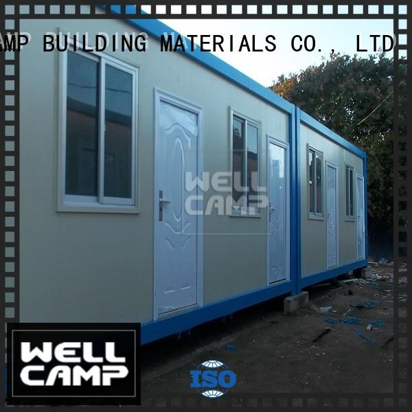 WELLCAMP, WELLCAMP prefab house, WELLCAMP container house low cost movable container house suppliers for goods