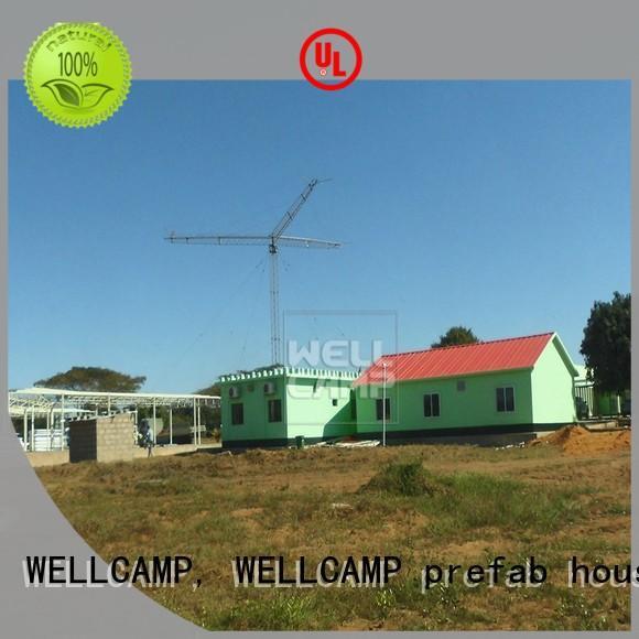 high quality prefab villa maker wholesale WELLCAMP, WELLCAMP prefab house, WELLCAMP container house