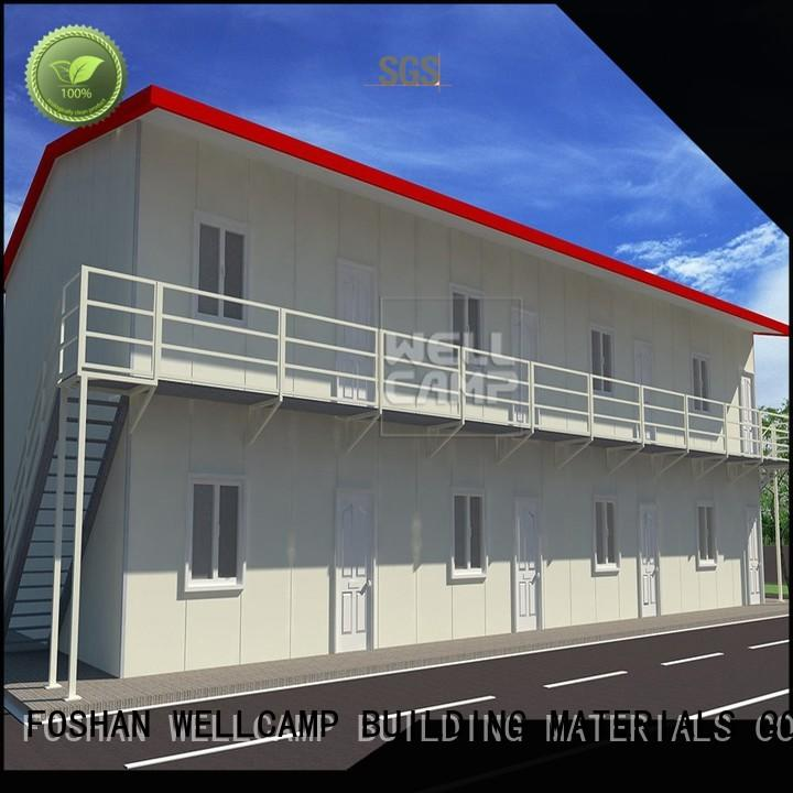WELLCAMP, WELLCAMP prefab house, WELLCAMP container house prefab container homes refugee house for accommodation