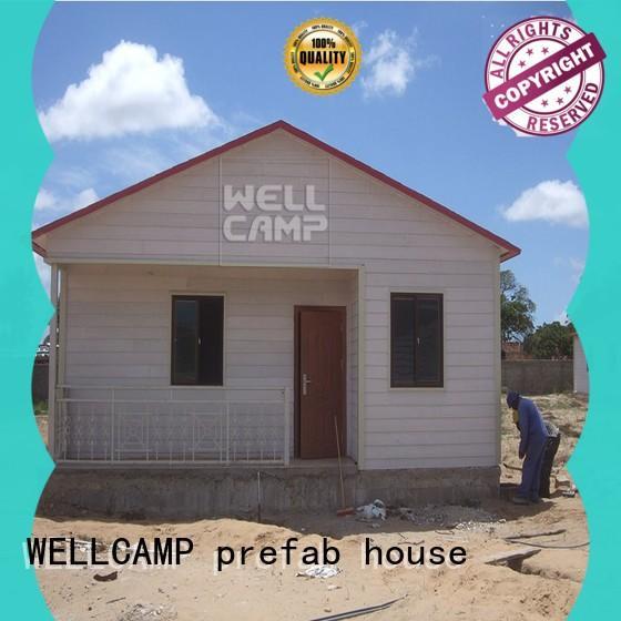 modular prefabricated luxury villa maker wholesale WELLCAMP, WELLCAMP prefab house, WELLCAMP container house