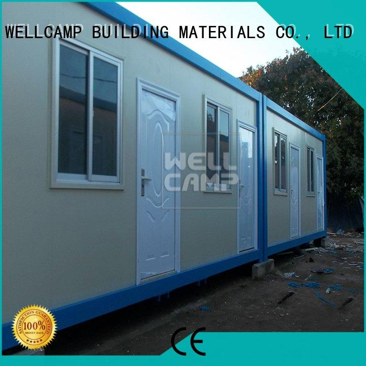 c16 prefabricated portable detachable container house WELLCAMP, WELLCAMP prefab house, WELLCAMP container house