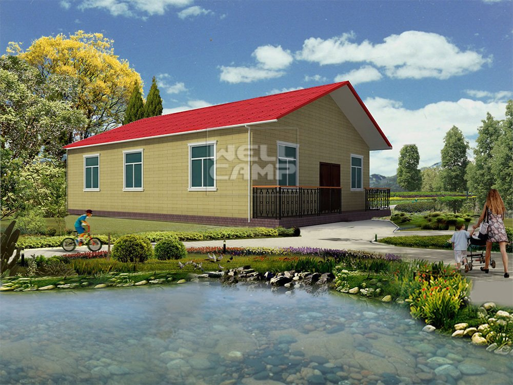 WELLCAMP, WELLCAMP prefab house, WELLCAMP container house Holiday Customized Concrete Prefab Villa Prefabricated Concrete Villa image120