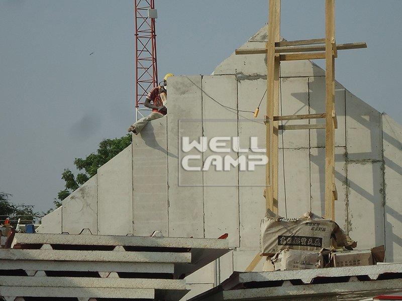 Luxury Customized Standard Modular Prefab Building, Wellcamp CV-3
