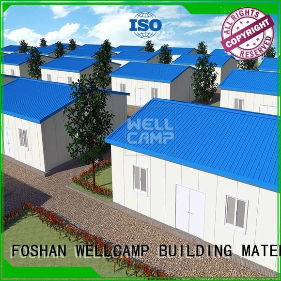 WELLCAMP, WELLCAMP prefab house, WELLCAMP container house prefab shipping container homes for sale classroom for accommodation