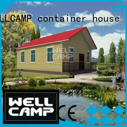 WELLCAMP, WELLCAMP prefab house, WELLCAMP container house modular luxury prefabricated houses for sale