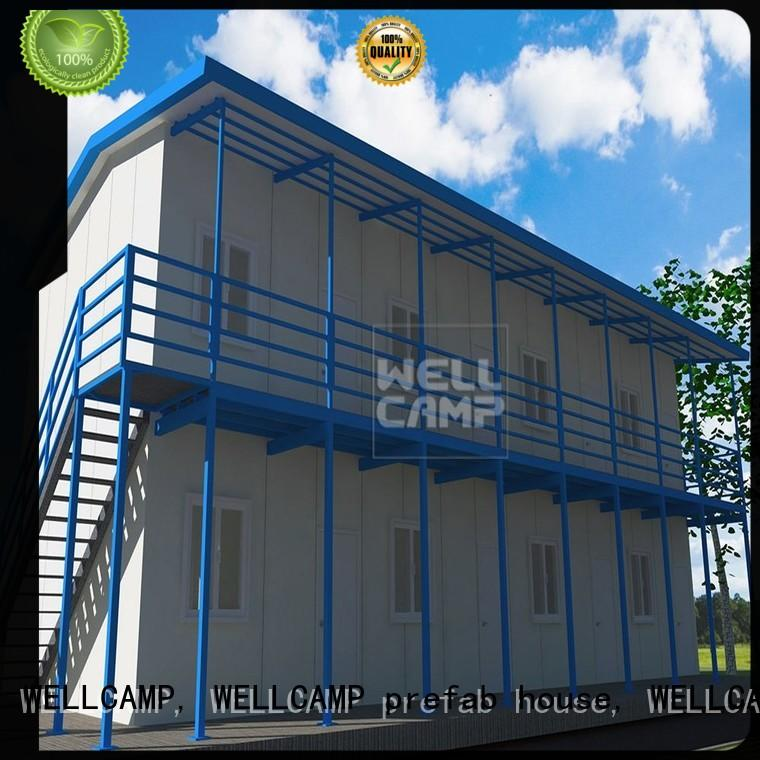 WELLCAMP, WELLCAMP prefab house, WELLCAMP container house prefab guest house classroom for accommodation
