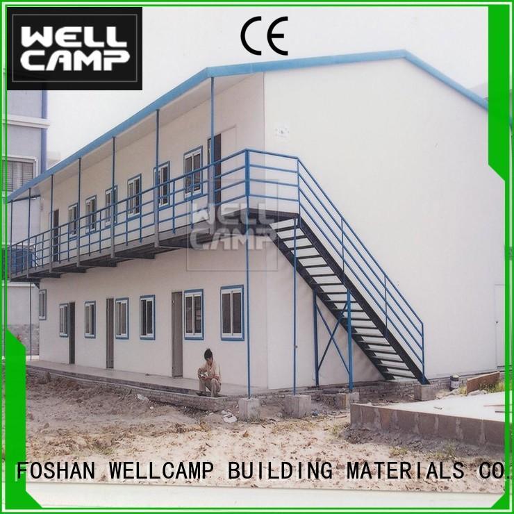 WELLCAMP, WELLCAMP prefab house, WELLCAMP container house modern prefab shipping container homes building for accommodation