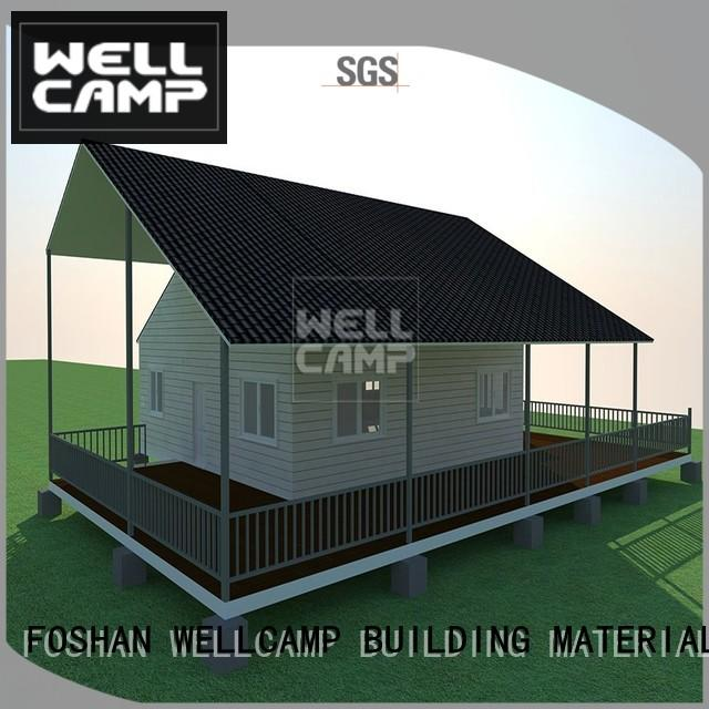 customized cv7 modular house modular WELLCAMP, WELLCAMP prefab house, WELLCAMP container house