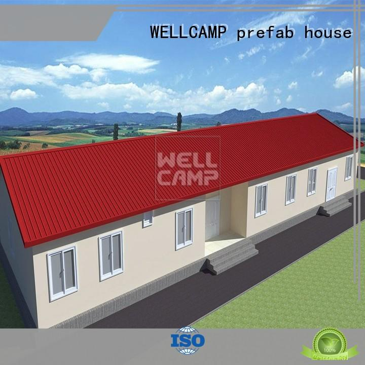 WELLCAMP, WELLCAMP prefab house, WELLCAMP container house concrete modular house wholesale for restaurant