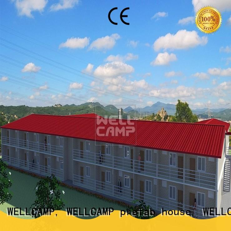 WELLCAMP, WELLCAMP prefab house, WELLCAMP container house modular house china manufacturer for countryside