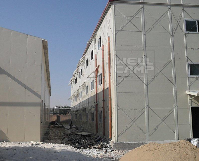 Three Floor Prefabricated Modular Houses In Qatar Project, Wellcamp K-17