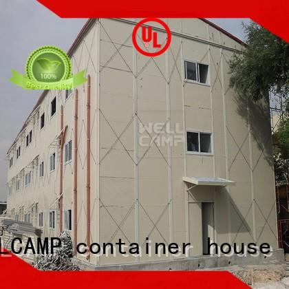 WELLCAMP, WELLCAMP prefab house, WELLCAMP container house dormitory china prefabricated house suppliers on seaside for office