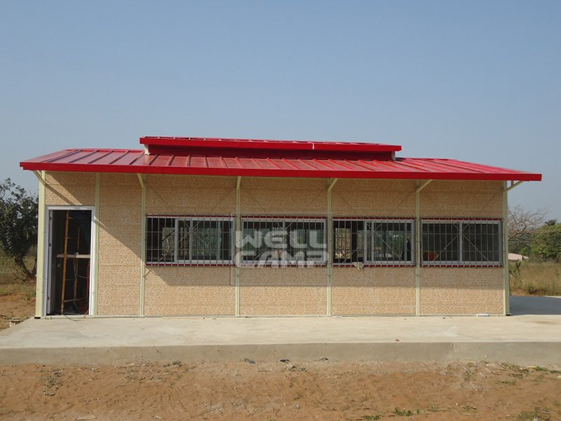 WELLCAMP, WELLCAMP prefab house, WELLCAMP container house Modern Prefabricated House For Classroom In Mozambique Project, Wellcamp K-16 K Prefabricated House image24