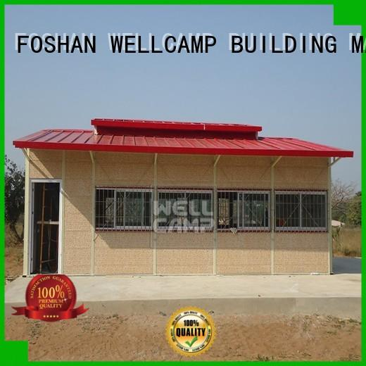 china prefabricated house for sale superior quality for hospital WELLCAMP, WELLCAMP prefab house, WELLCAMP container house