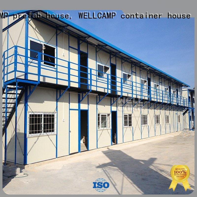 WELLCAMP, WELLCAMP prefab house, WELLCAMP container house strong prefab houses for sale apartment for labour camp