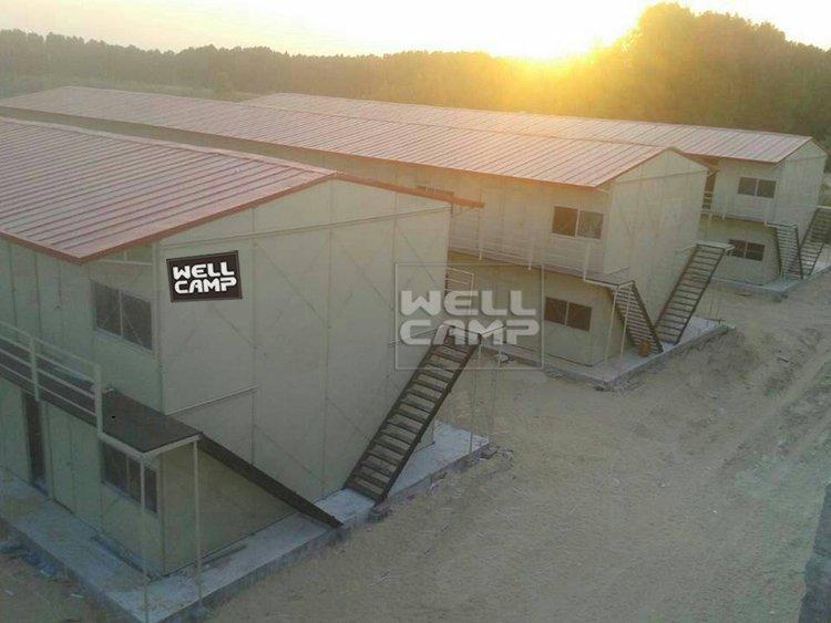 Economic Prefab Dormitory House in Saudi Arabia Project