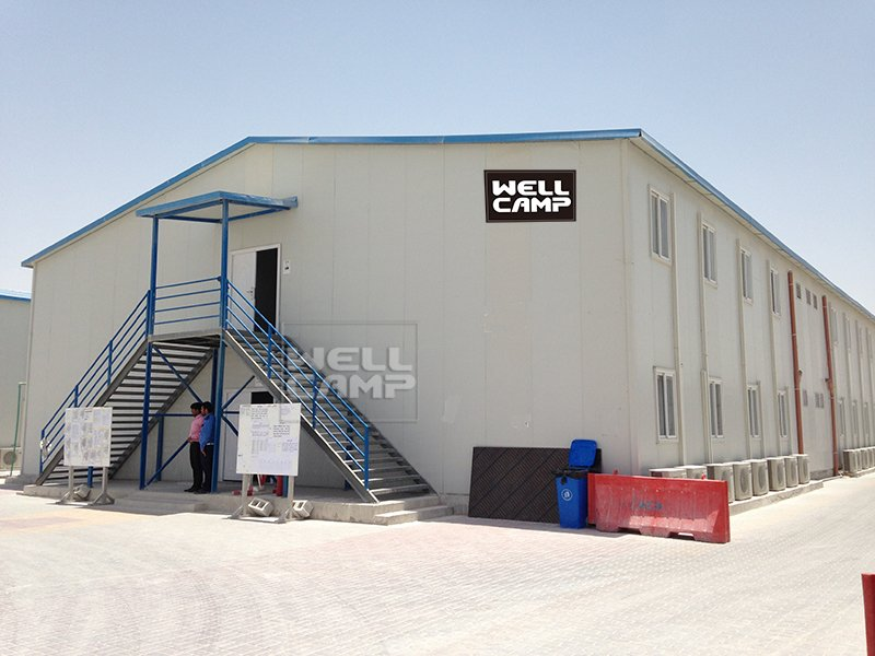 WELLCAMP, WELLCAMP prefab house, WELLCAMP container house Two Floor Sandwich Panel Mobile Prefab Homes, Wellcamp T-1 T prefabricated House image10