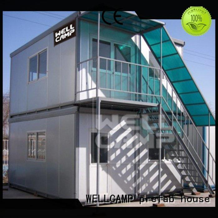 house china flat pack container house manufacturers cost apartment WELLCAMP, WELLCAMP prefab house, WELLCAMP container house