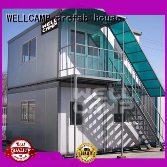 WELLCAMP, WELLCAMP prefab house, WELLCAMP container house ripple container house project online for living