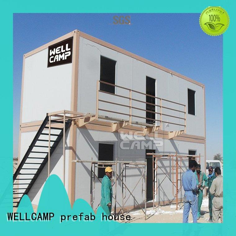 detachable china prefab container house office for WELLCAMP, WELLCAMP prefab house, WELLCAMP container house