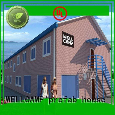 Prefabricated Concrete Villa strong style holiday homes