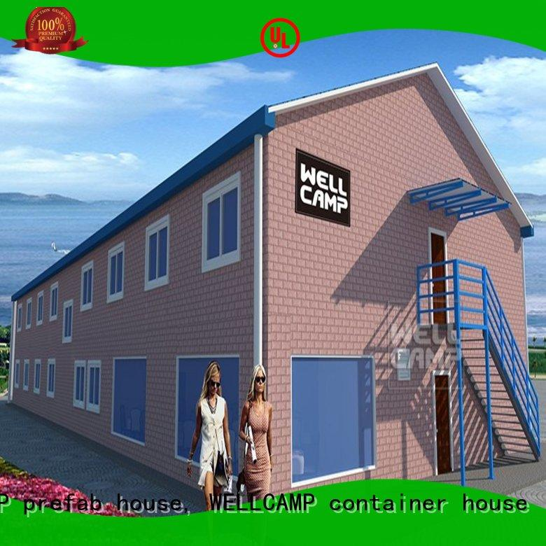 WELLCAMP, WELLCAMP prefab house, WELLCAMP container house project modular house standard building for sale