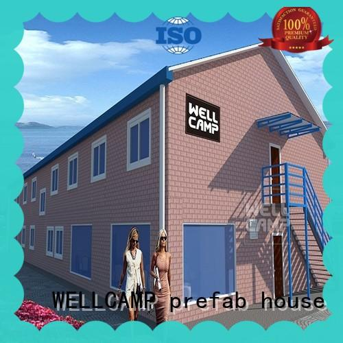 Modern And Luxury Prefabricated Concrete House For Hotel, Wellcamp CV-4