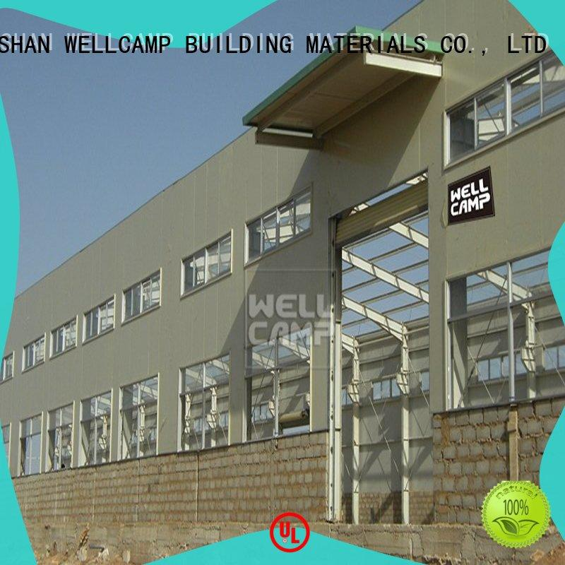 warehouse prefabricated warehouse steel for WELLCAMP, WELLCAMP prefab house, WELLCAMP container house