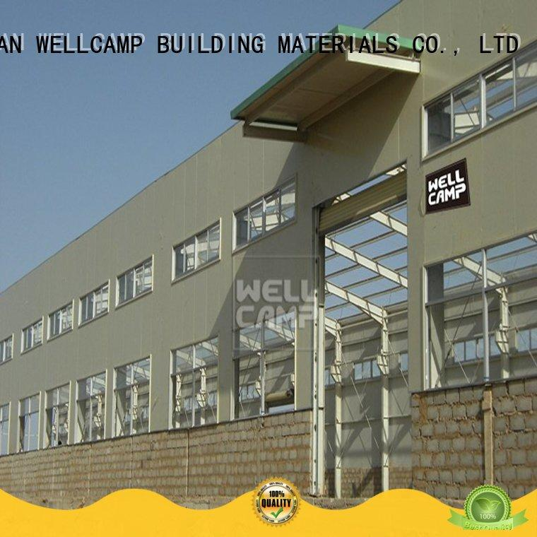 WELLCAMP, WELLCAMP prefab house, WELLCAMP container house frame steel warehouse low cost for goods
