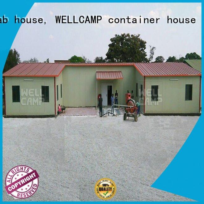 WELLCAMP, WELLCAMP prefab house, WELLCAMP container house customized china prefabricated house factory refugee house for office