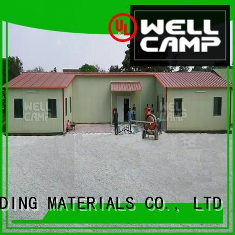 WELLCAMP, WELLCAMP prefab house, WELLCAMP container house prefabricated modular prefabricated house suppliers prefab