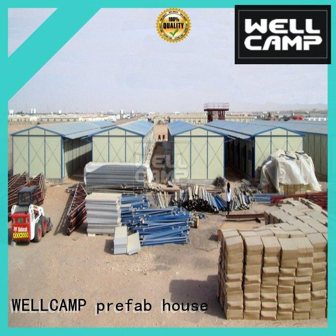 WELLCAMP, WELLCAMP prefab house, WELLCAMP container house project prefabricated houses china price home for office