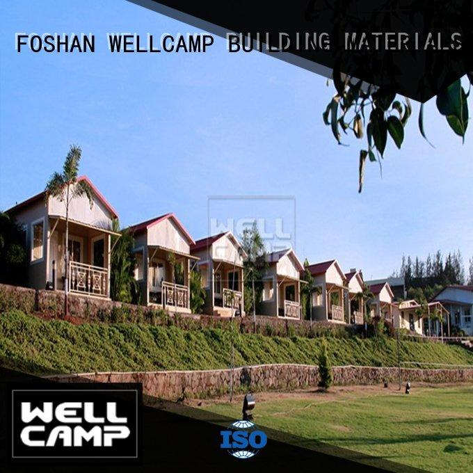 WELLCAMP, WELLCAMP prefab house, WELLCAMP container house concrete modular house wholesale for countryside