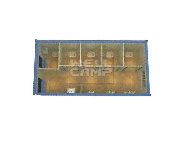 Two Floor Recyclable Container House for Living, Wellcamp C-14