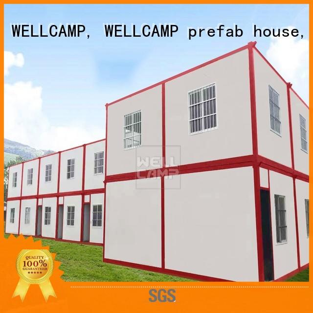 expandable container house manufacturers for living WELLCAMP, WELLCAMP prefab house, WELLCAMP container house