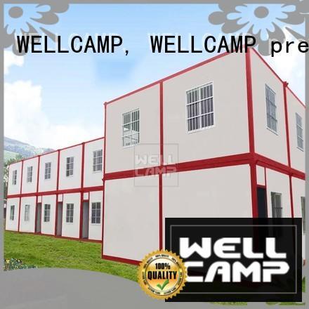 WELLCAMP, WELLCAMP prefab house, WELLCAMP container house sandwich prefab container house home for apartment