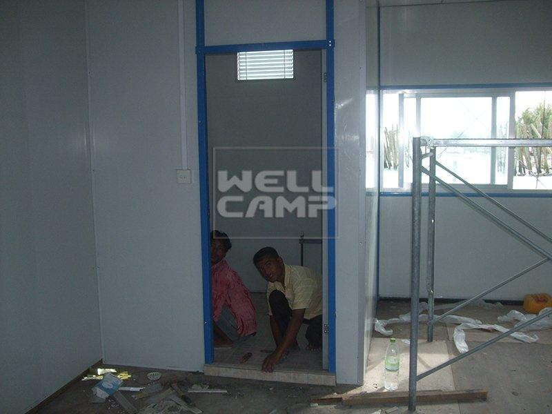 Green Modern Prefab Modular House with Recyclable Materials, Wellcamp K-13