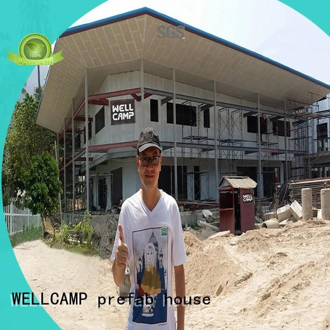 WELLCAMP, WELLCAMP prefab house, WELLCAMP container house modular house supplier for countryside