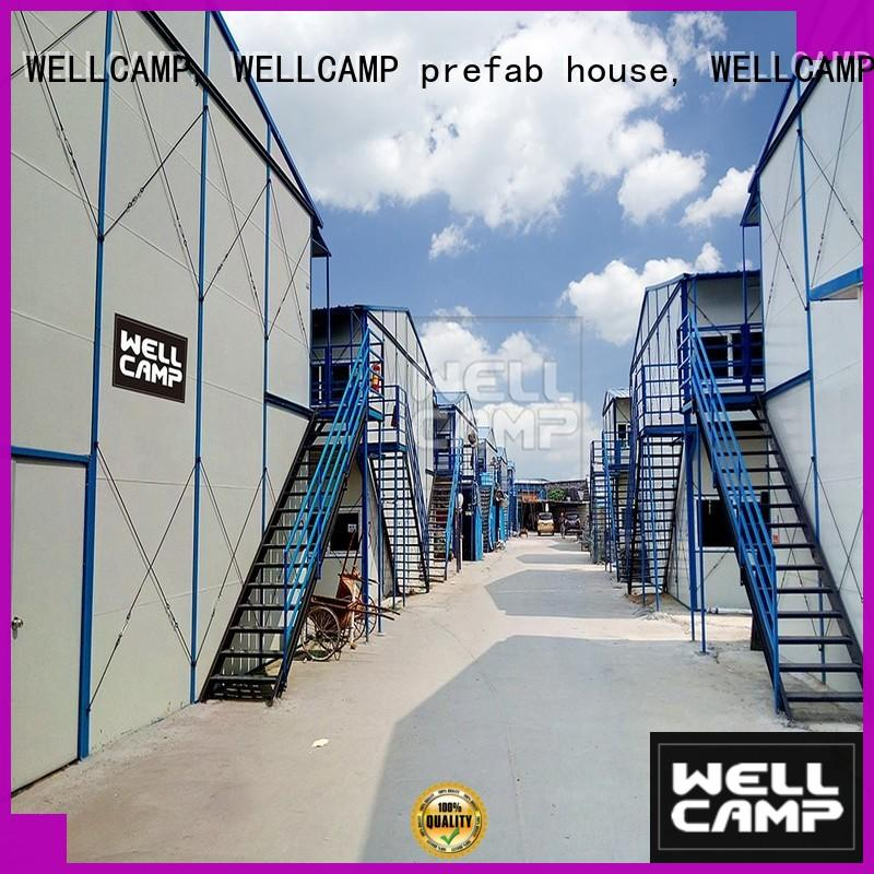 WELLCAMP, WELLCAMP prefab house, WELLCAMP container house prefab guest house on seaside for accommodation worker